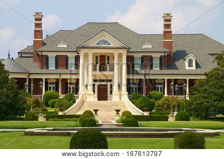 Mansion called Rose Hill Estate sitting on a large lot