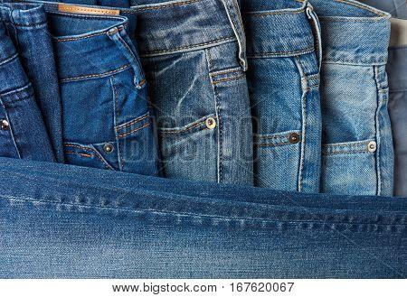 Blue Jeans Pants Clothes
