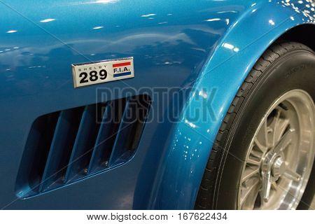 Shelby Cobra 289 Emblem