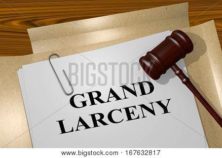 larceny deutsch
