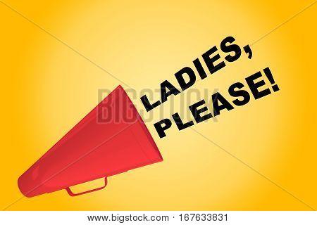 Ladies, Please! Concept