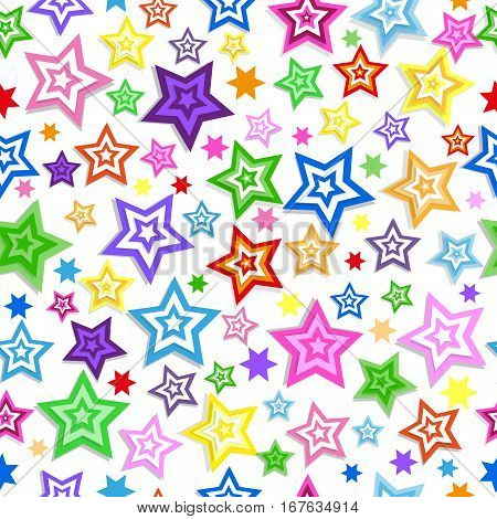 Background Colorful Stars