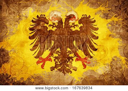 Vintage Holy roman empire flag