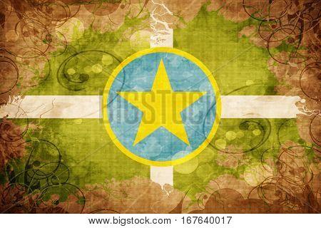 Vintage Jackson flag