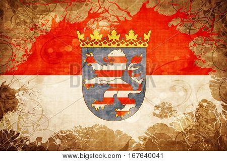 Vintage Hesse flag