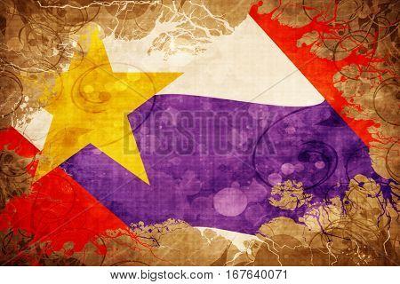 Vintage Lafayette flag