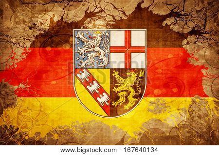 Vintage Saarland flag
