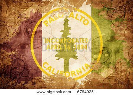 Vintage Palo Alto flag