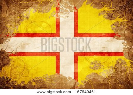 Vintage Dorset flag