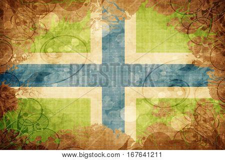 Vintage Gloucestershire flag