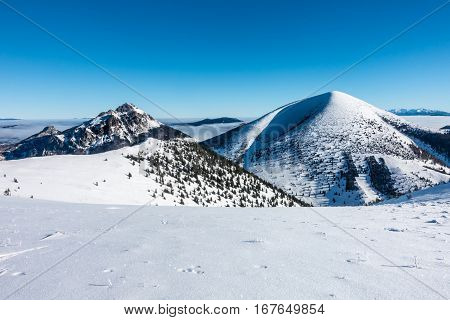 Winter At Little Fatra Hills National Park, Slovakia