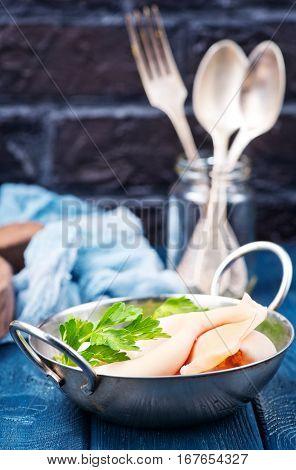 Boiled Calamari