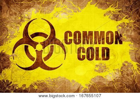Grunge vintage Common Cold