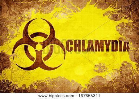 Grunge vintage Chlamydia