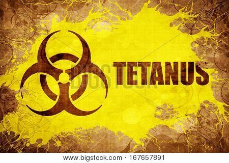 Grunge vintage Tetanus