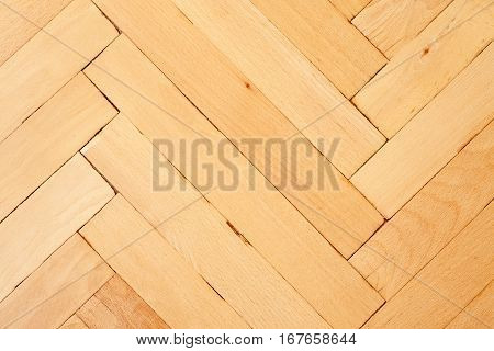 Light Color Parquet Background Texture, Horizontal, Close-up Shot