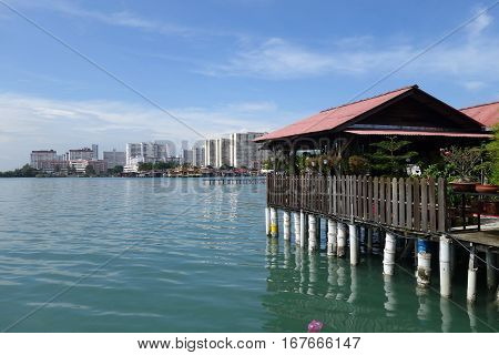 Heritage Stilt Houses Of The Chew Clan Jetty In Penang, Malaysia