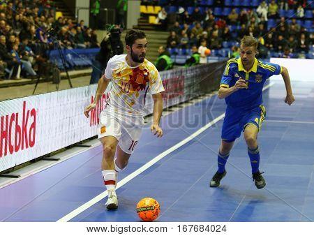 Friendly Futsal: Ukraine V Spain In Kiev, Ukraine
