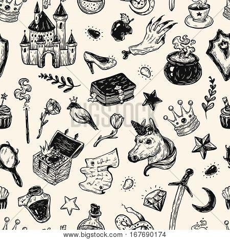 Fairy Tale, Pattern.