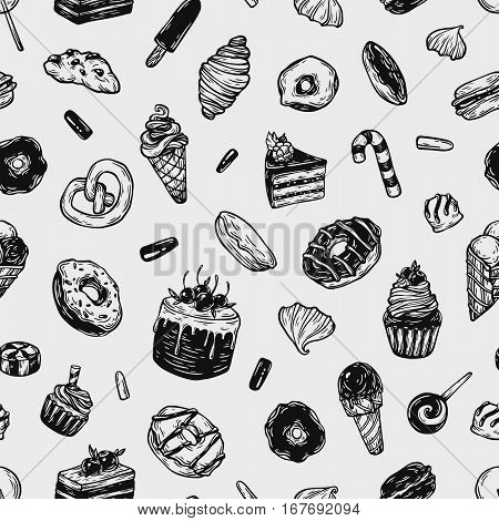 Vector Sweets, Pattern.