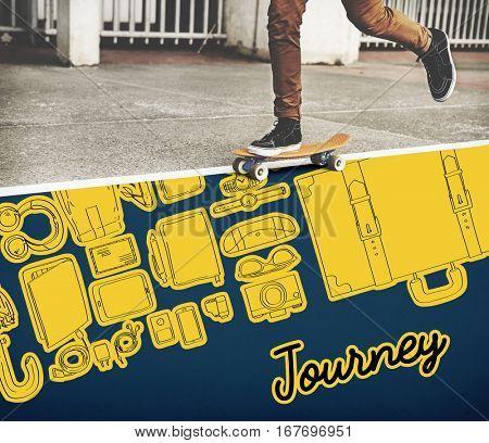 Journey Travel Trip Destination Concept