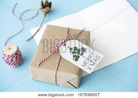 Christmas Tree Celebration Tinsel Concept