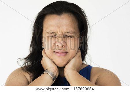 Woman Sad Face Expression Emotion