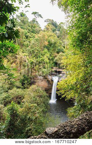 Waterfall Haew suwat Khao Yai National Park Thailand