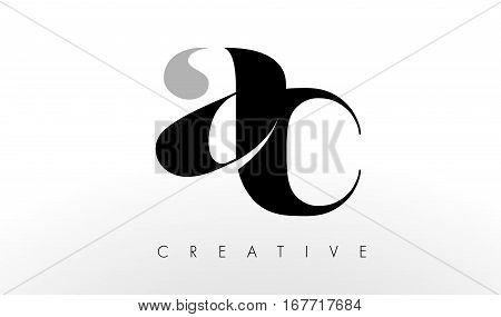 A C Letter Logo Design. Creative Modern AC Letters Icon Illustration.