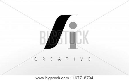 A I Letter Logo Design. Creative Modern AI Letters Icon Illustration.