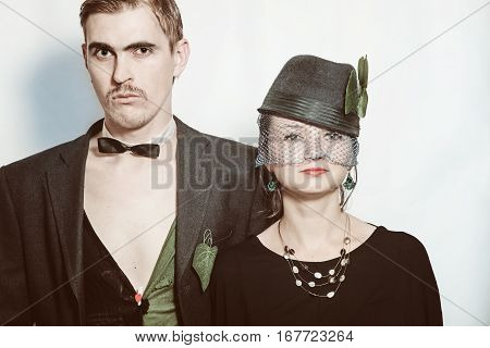 Young Couple Theater Actors
