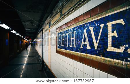 Fifth Avenue Subway Station