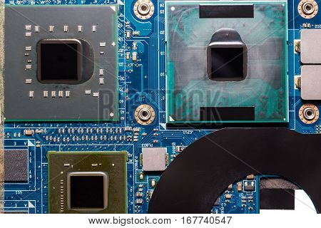 Cpu On Laptop Motherboard