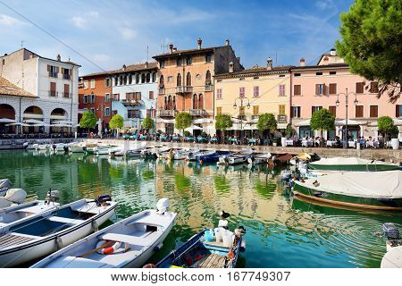 Desenzano Del Garda, Italy - September 23, 2016: Beautiful Views Of Desenzano Del Garda, A Town And