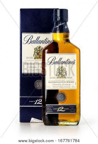 Photo Of A Botle Of Ballantines 12 Years Old