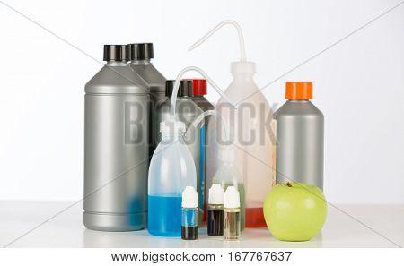 Agricultural fertilizer for hydroponics in bottles