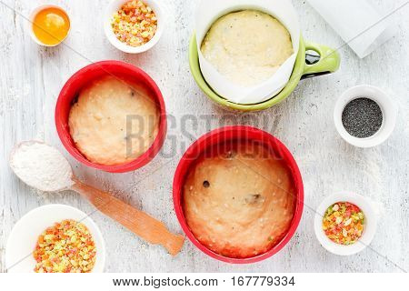 Baking Easter cake kulich (Easter bread paska paskha) recipe step by step