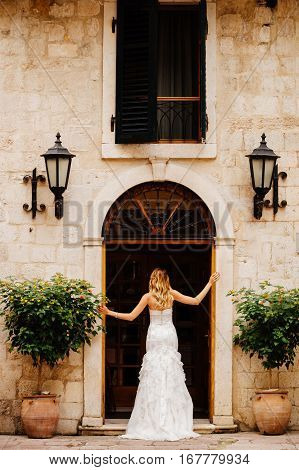 Wedding Bride In Luxury Hotel