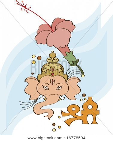 Indian deity Ganesha