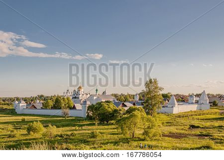 Convent Of The Intercession Or Pokrovsky Monastery In The Ancient Town Of Suzdal