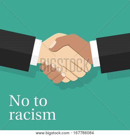 No To Racism Concept