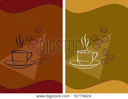 Vector Coffee Design template