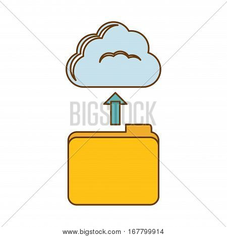 database storage icon image design, vetor illustration