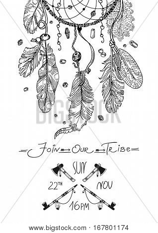Template for Party Poster or Invitation -