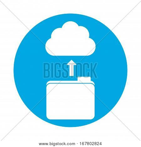 symbol database storage icon image design, vetor illustration