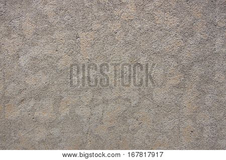 Concrete sidewalk with drying pattern, close up for backgrounds