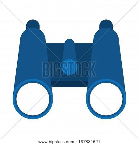 binoculars exploration observe look vector illustration eps 10