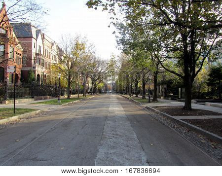 Historic Prairie Avenue Chicago Illinois United States