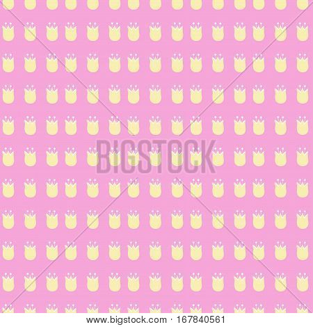 tiny floral pattern on pastel background. Cute image.