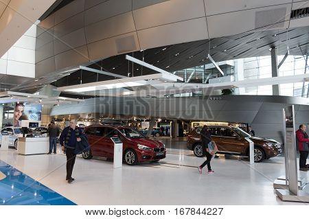 MUNICH - JANUARY 30: BMW Welt Munich Germany
